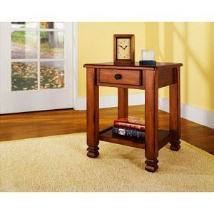 Summit Mountain End Table By Altra End Tables With