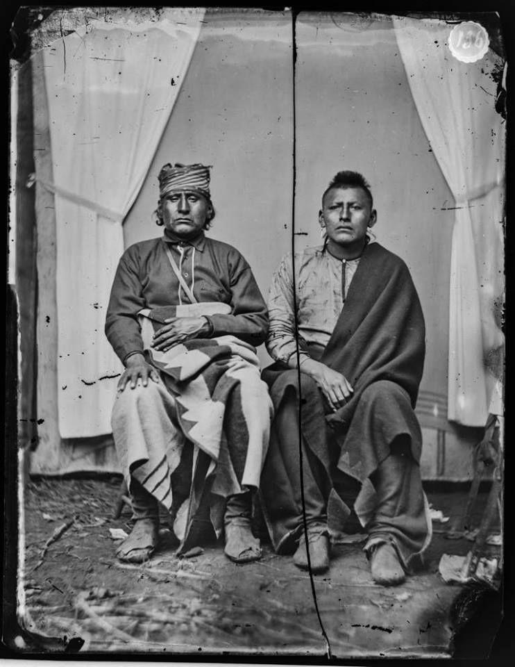 War Eagle, Eagle Feather - Osage - 1874
