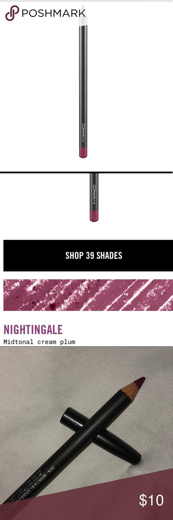 MAC Nightingale lip pencil New No box MAC nightingale lip liner MAC