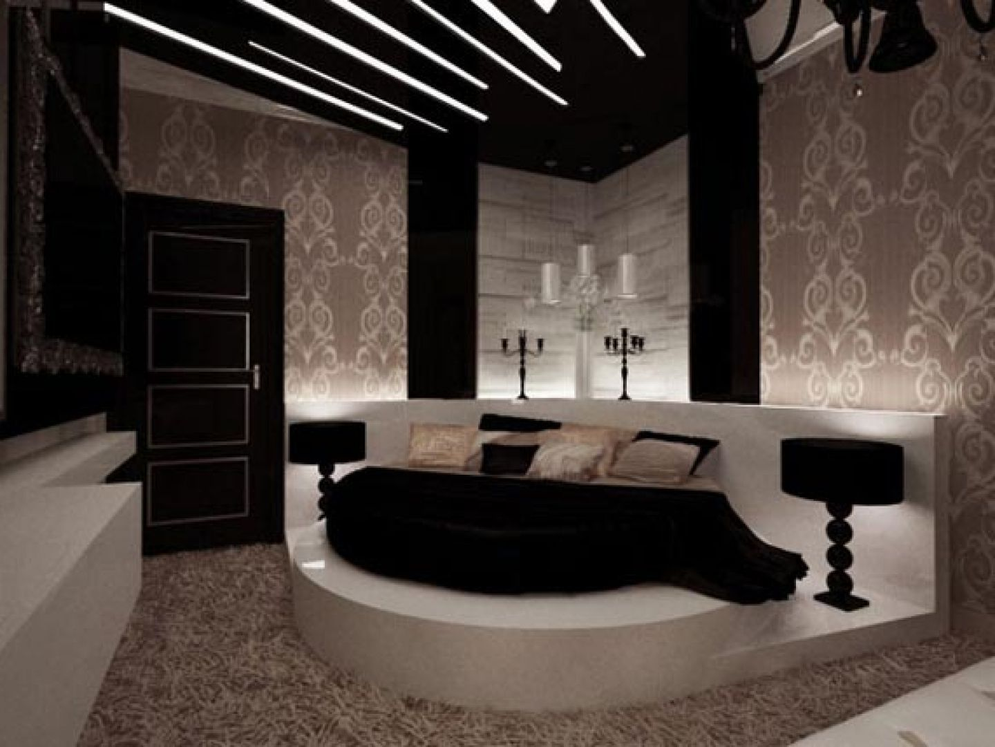 Bedroom Ideas Cream And Black