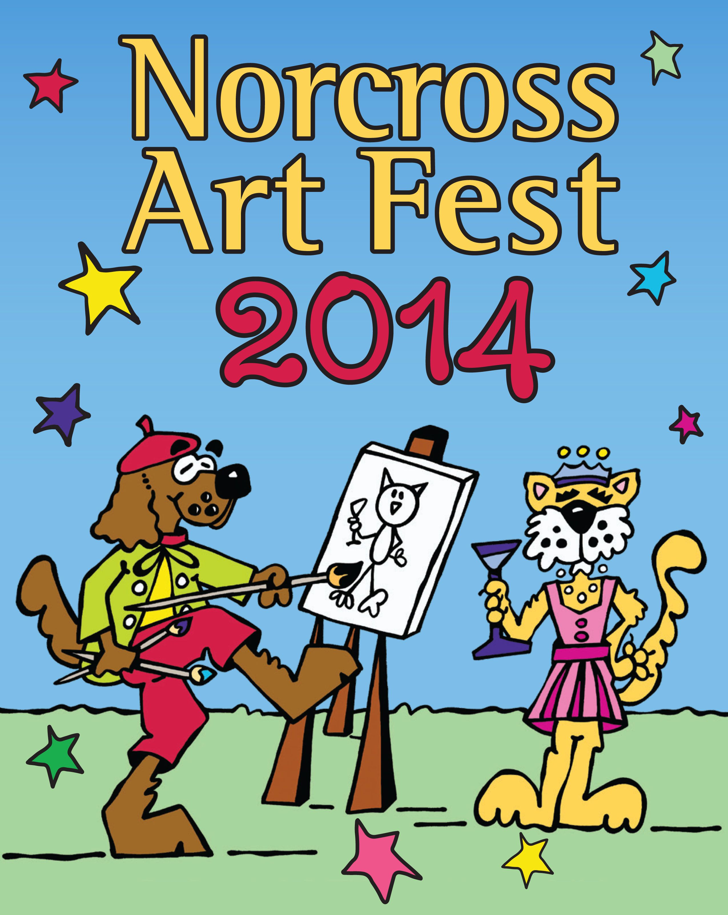 Norcross Art Fest The Festival With Personalitycheck it