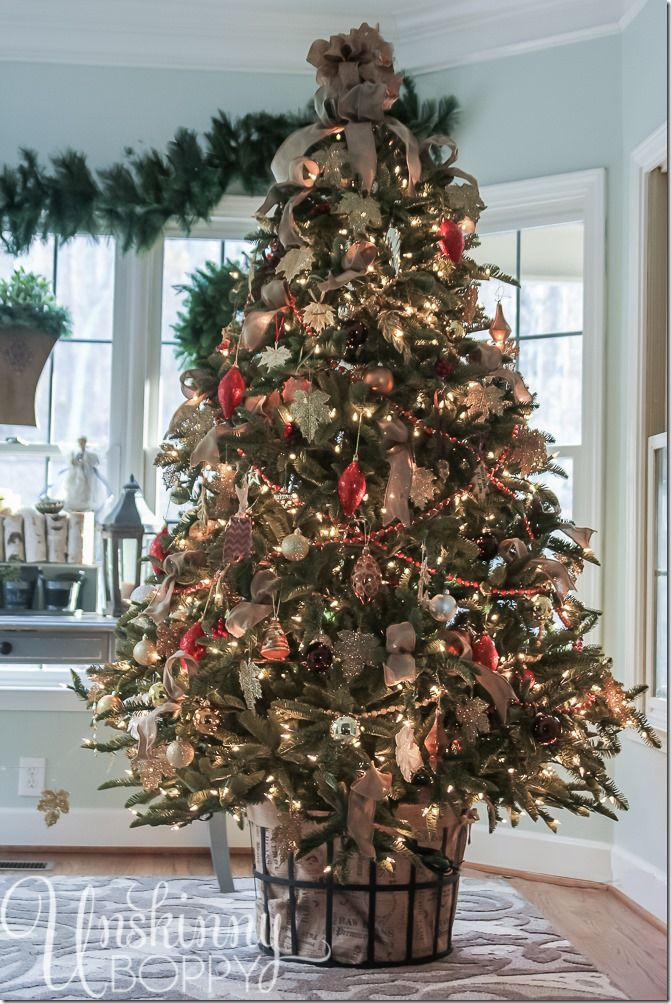 Oh Christmas Tree How Lovely Are Thy Branches Unskinny Boppy Creative Christmas Trees Christmas Tree Container Diy Christmas Tree