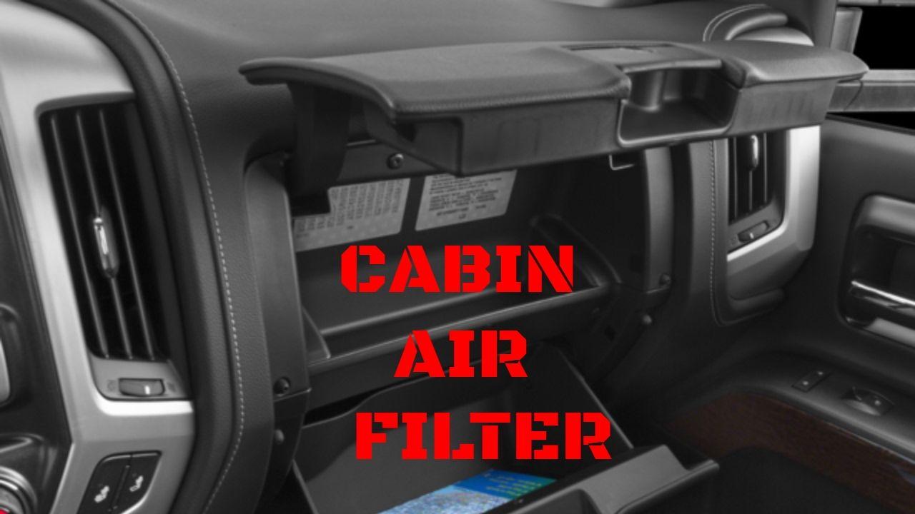 2014 2017 Gmc Sierra Chevy Silverado Cabin Air Filter Replacement Video Youtube Cabin Air Filter Chevy Silverado Chevrolet Silverado 2500
