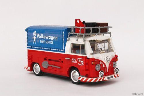 LEGO 10220 Creator Volkswagen T1 Camper Van VW New Sealed box old version