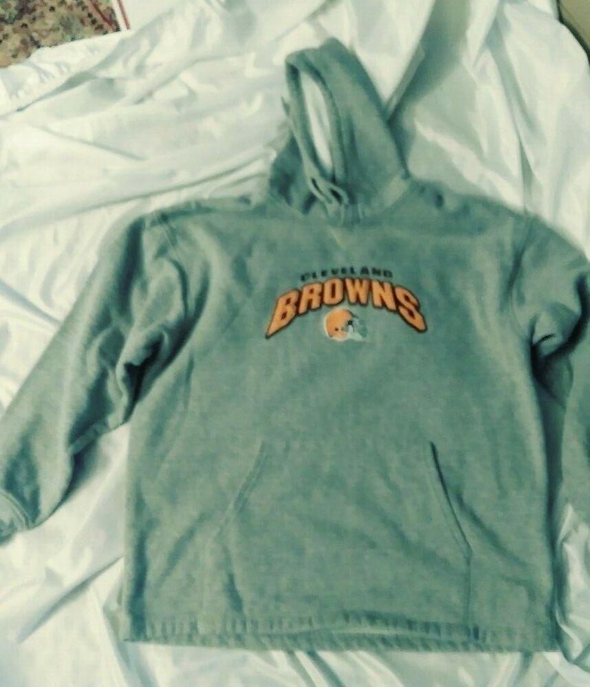 Nfl Team Apparel Cleveland Browns Sweatshirt Hoodie Size Medium Nflclevelandbrowns Hoodie Svitshot [ 1000 x 858 Pixel ]