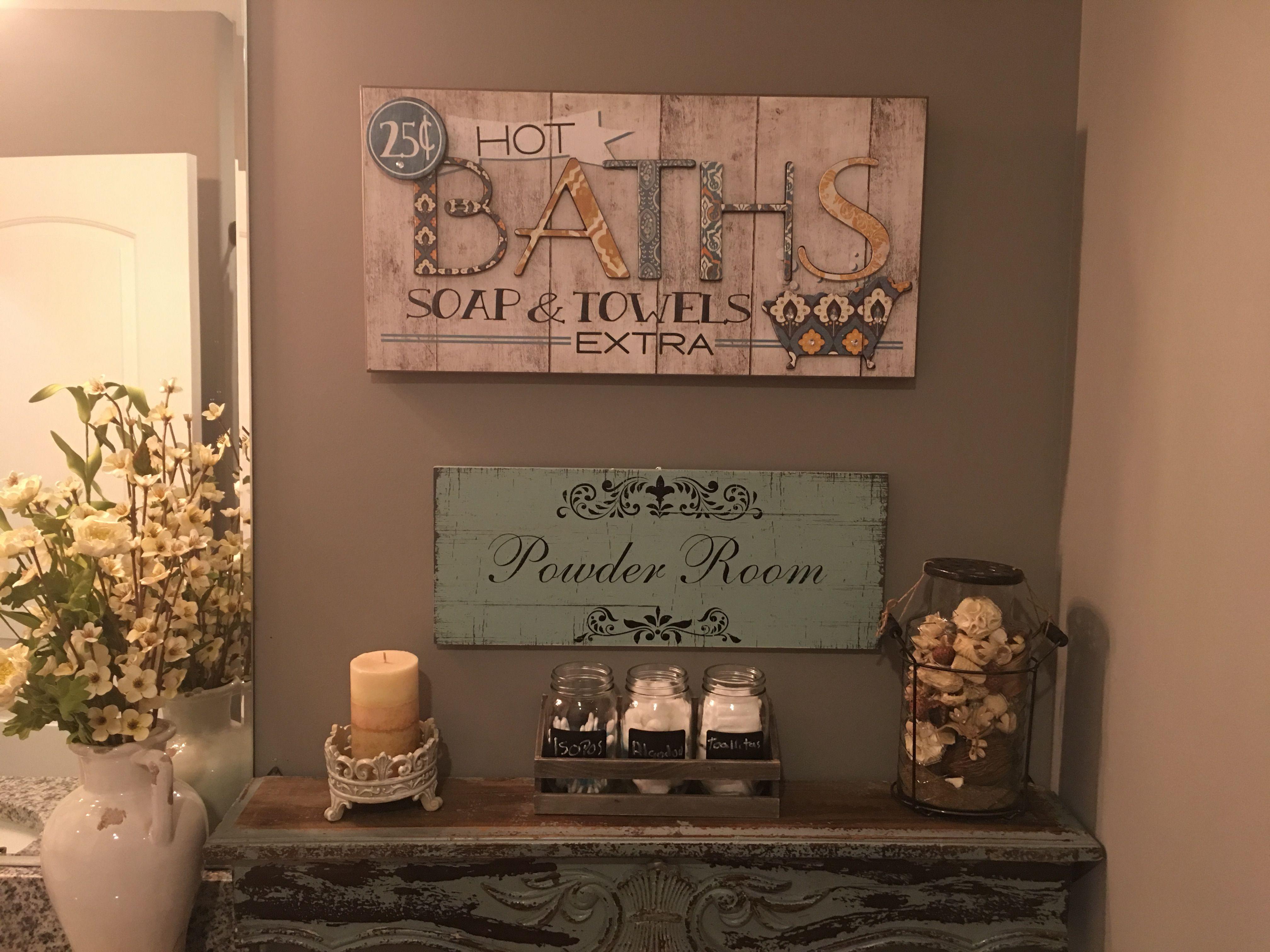 My new farmhouse style bathroom