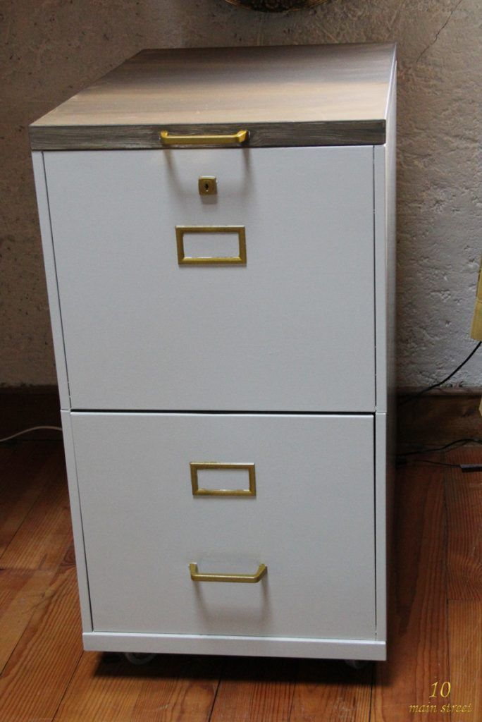Nouvelle Vie Pour Un Vieux Classeur With Images Filing Cabinet Upcycled Furniture Sweet Home