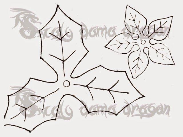 Flor De Pascua Nochebuena Hecha De Foamy Goma Eva