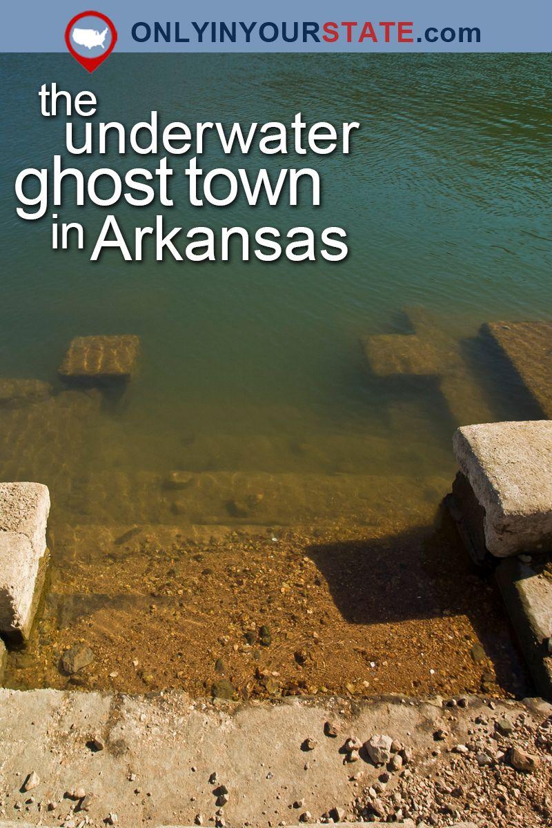 Beaver Lake Arkansas Underwater Town