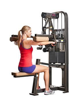 weight machines at the gym  fitness magazine / tone your
