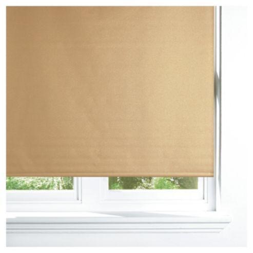 Tesco Sparkle Roller Blind 120cm Gold New Bedroom Look