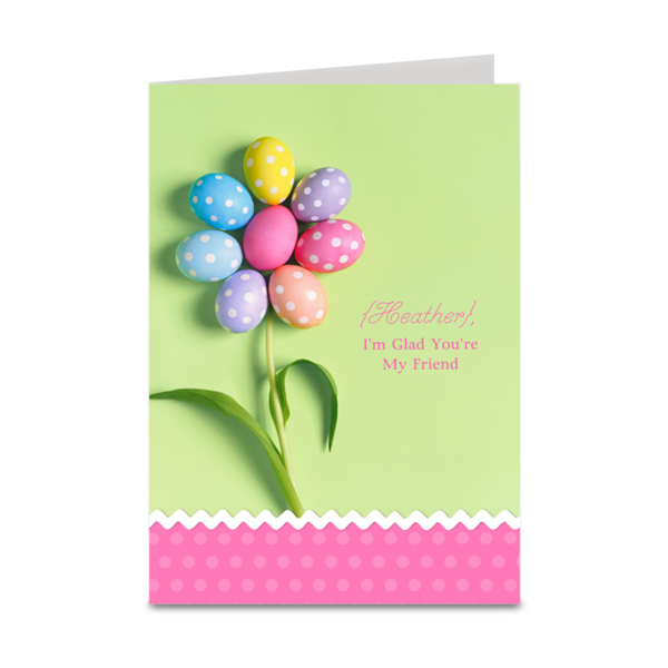 personalized easter card crafts pinterest easter card