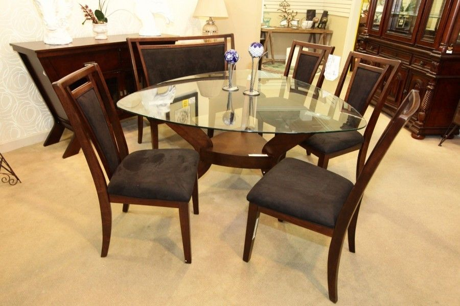 Najarian Gallia Triangle Dining Table With 4 Chairs And Bench