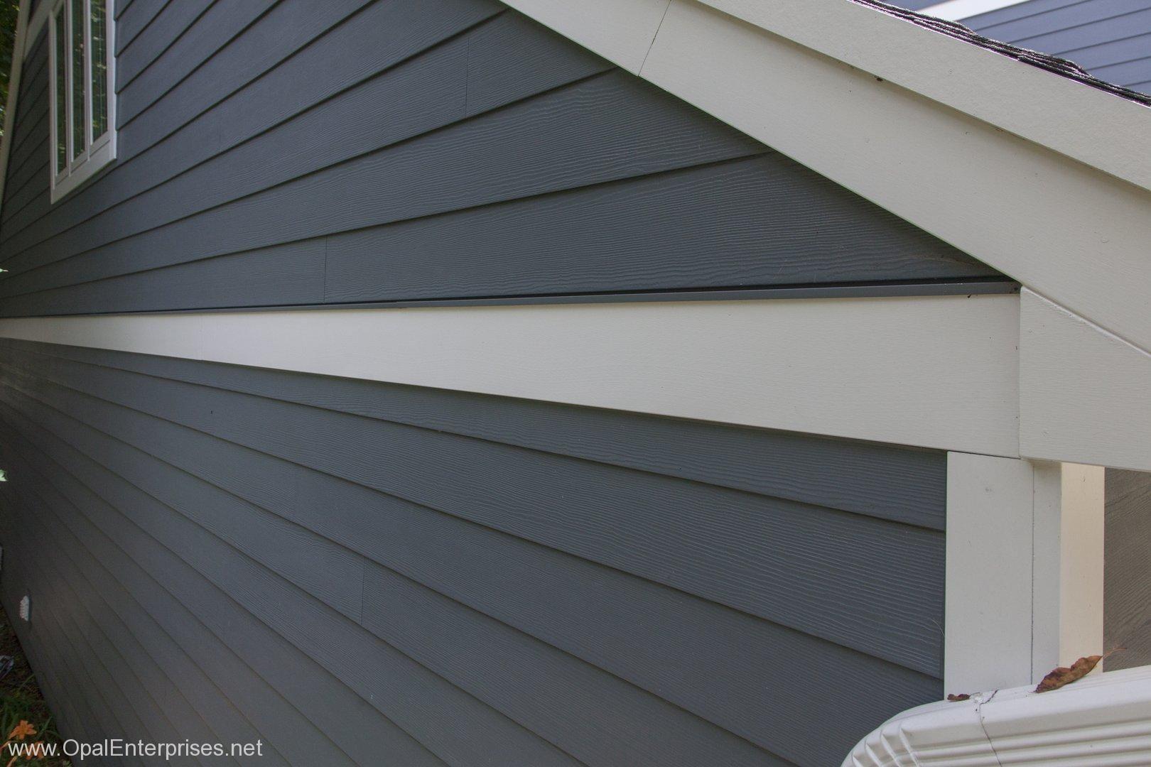 Side View Of Hardie Plank Siding Hardie Siding Exterior House Renovation Siding