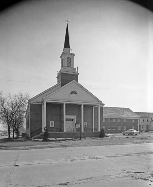 Calvery Baptist Church Admiral Pl 1960 Beryl Ford Collection
