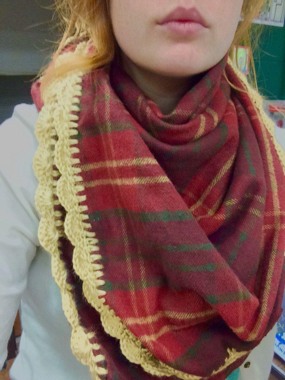 Hank's Blanket Scarf by Hookopotomus on Etsy https://www.etsy.com/listing/253993710/hanks-blanket-scarf