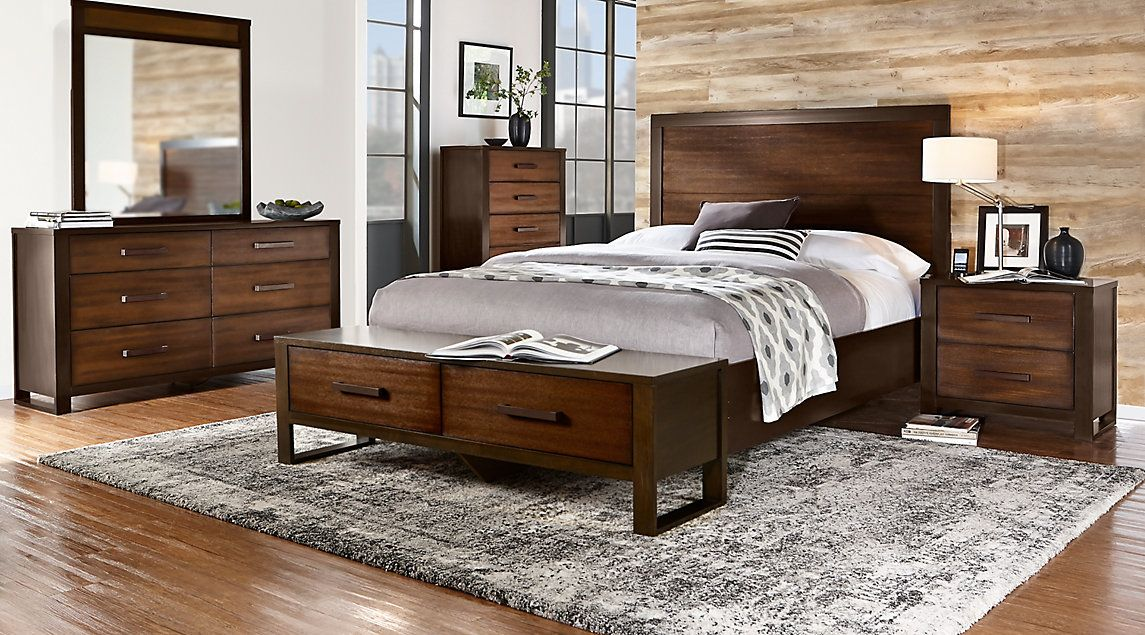 Affordable Panel Queen Bedroom Sets - Rooms To Go Furniture ...