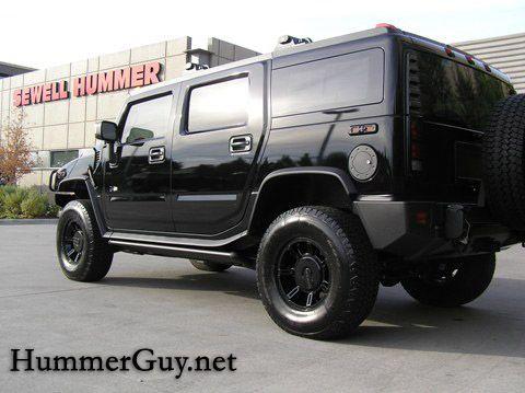 All Black Custom Hummer H2 Makes Debut Hummer Guy H2