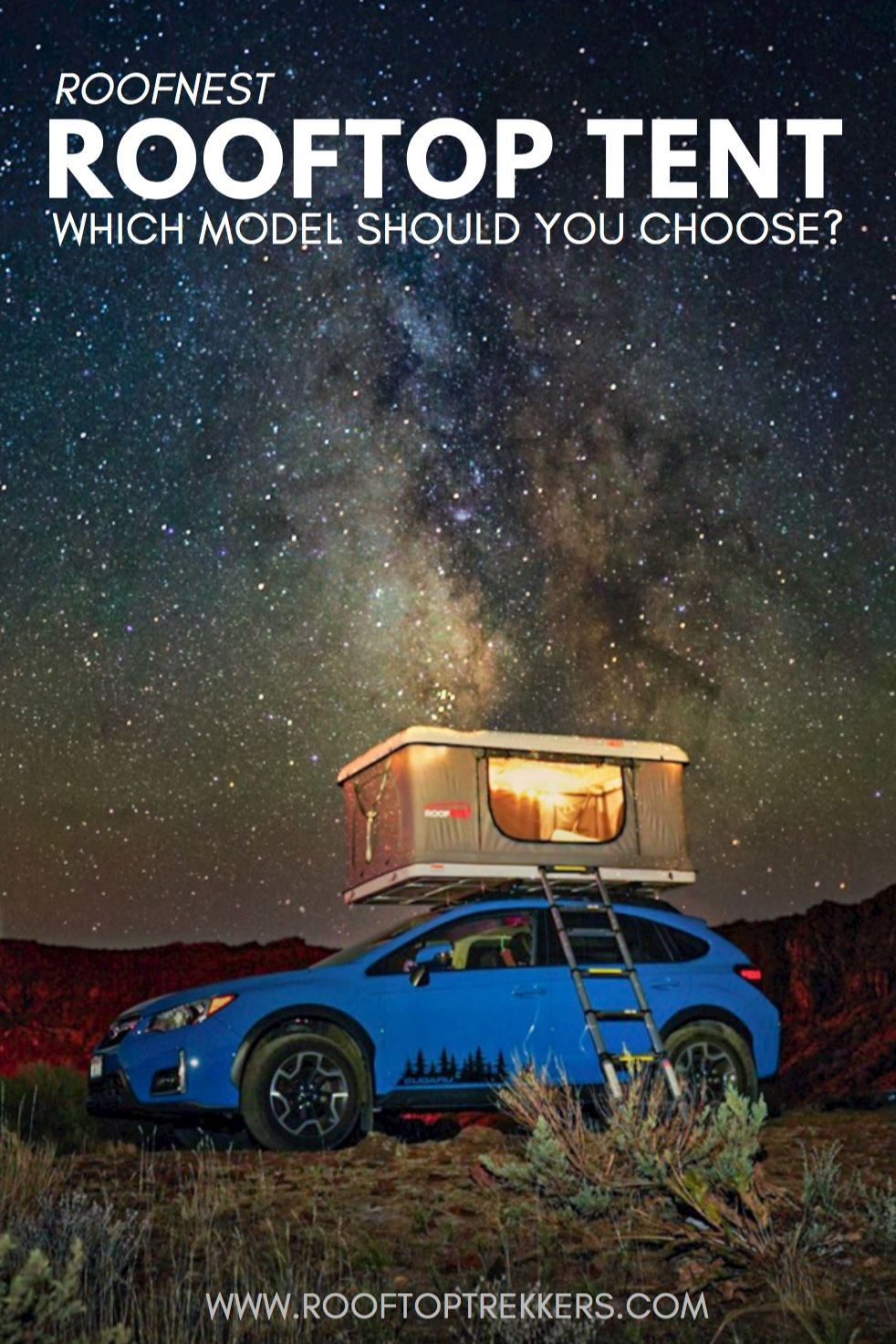 Wondering which model Roofnest Rooftop Tent to purchase