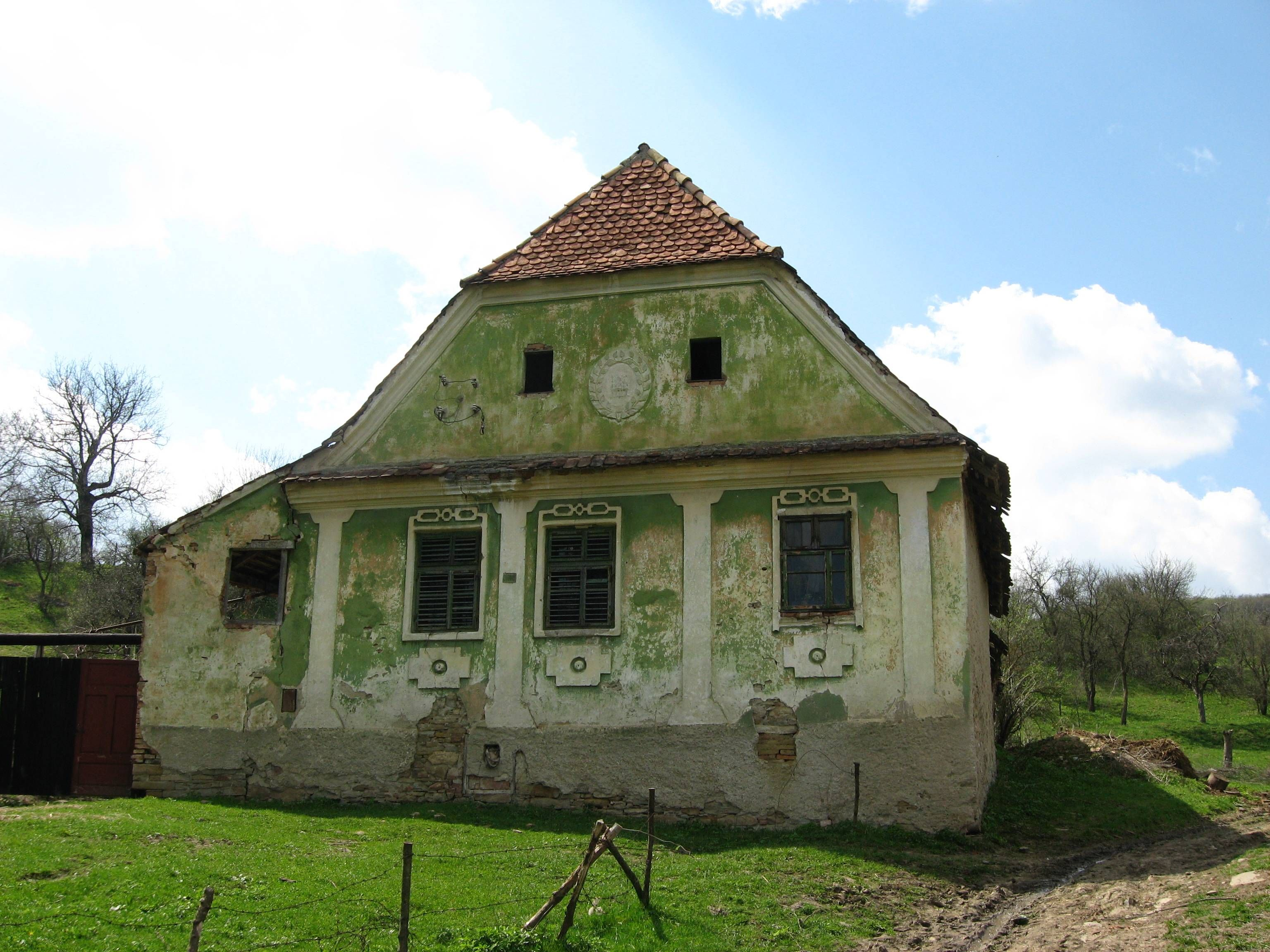 An Old House In Transylvania Architectuur