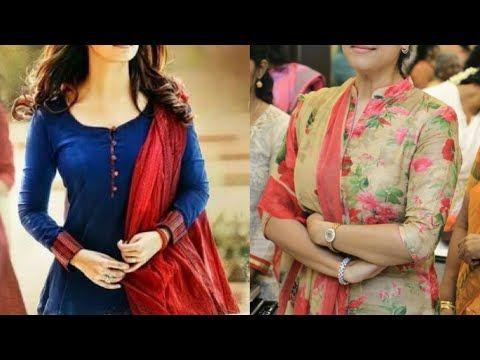 49e3f07a508 New Office Wear Kurta Designs/Latest College Wear Kurta Designs Idea/Kurti/Salwar  Suit Designs - YouTube