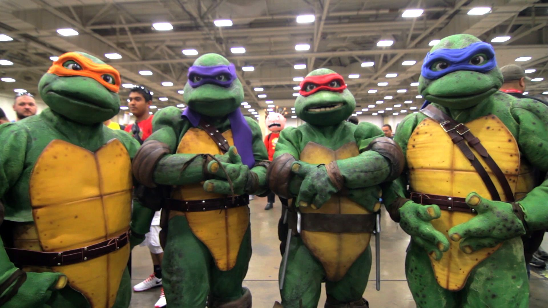 Real Life Ninja Turtle Costume