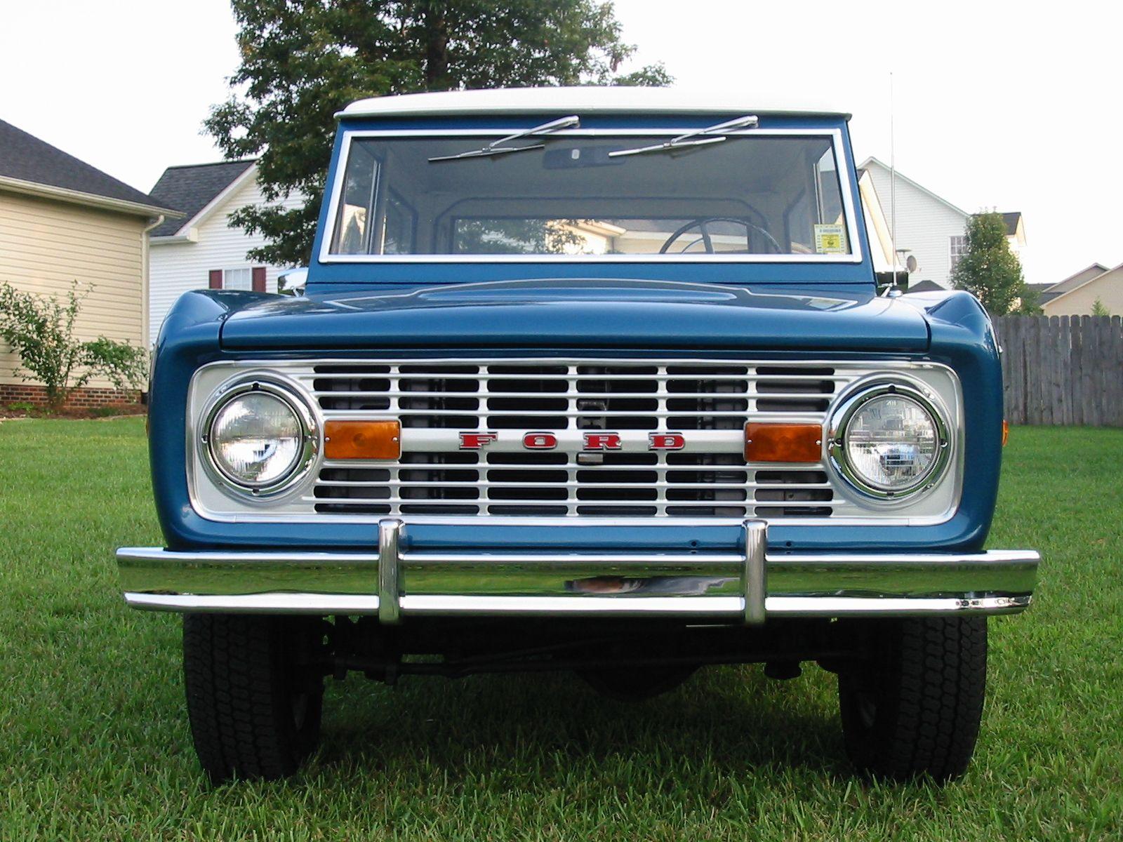 Astra Blue Bronco