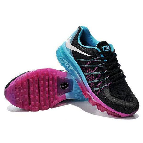 sortie d'usine original jeu Air Max 2015 Flyknit Chaussures De Sport Mixte Jordans Noir / Pourpre moins cher amazone discount Manchester eVoPx0B