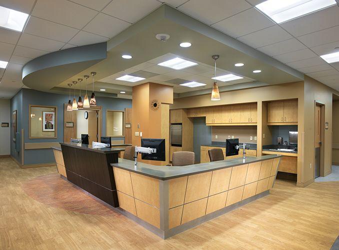 Nurse Station Design At The Argyros Medical Center In La Quinta CA By Team