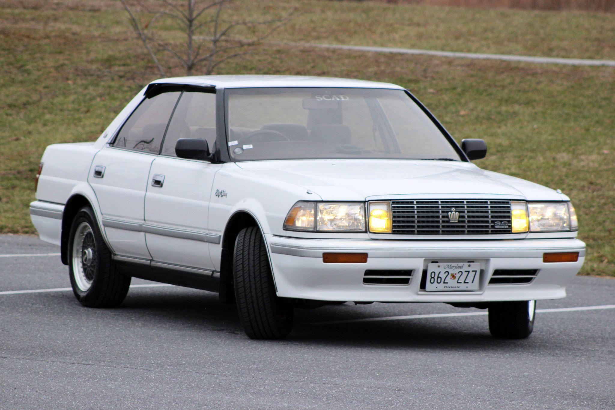 1990 Toyota Crown Royal Saloon | Toyota crown, Toyota, Toyota cars