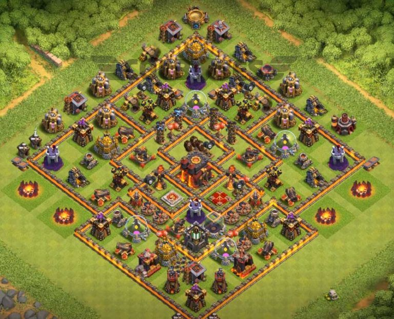 Best Th10 Base Layout 2019 10
