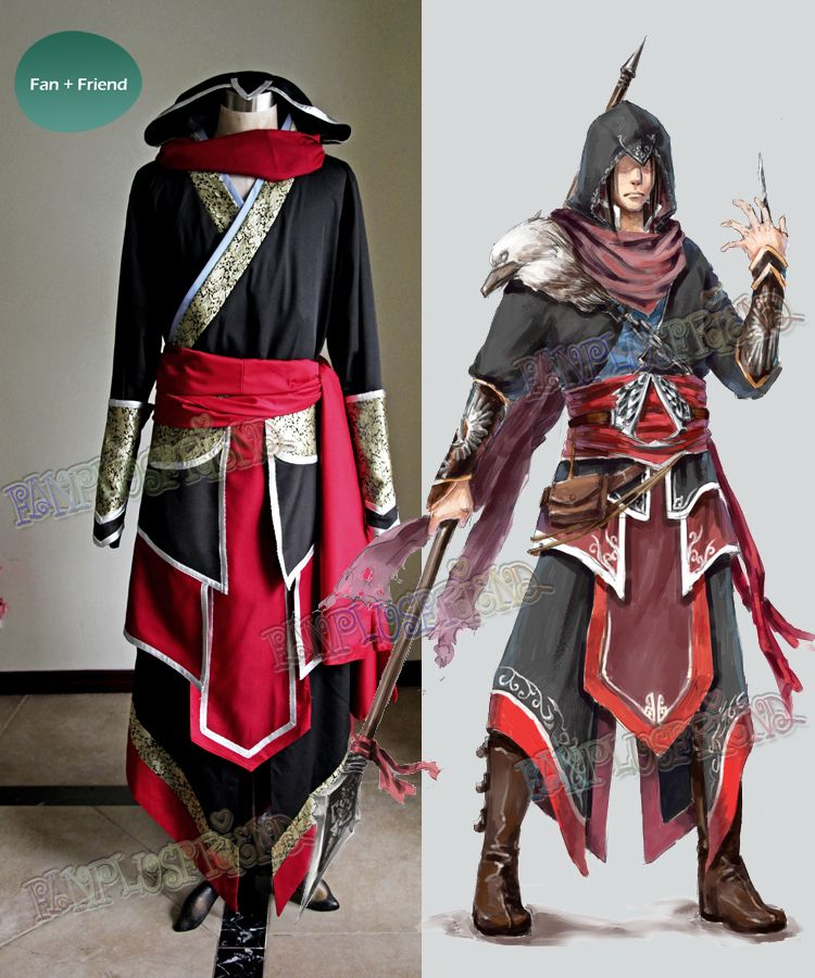 Assassin S Creed Cosplay Costume Outfit Set Assassins Creed