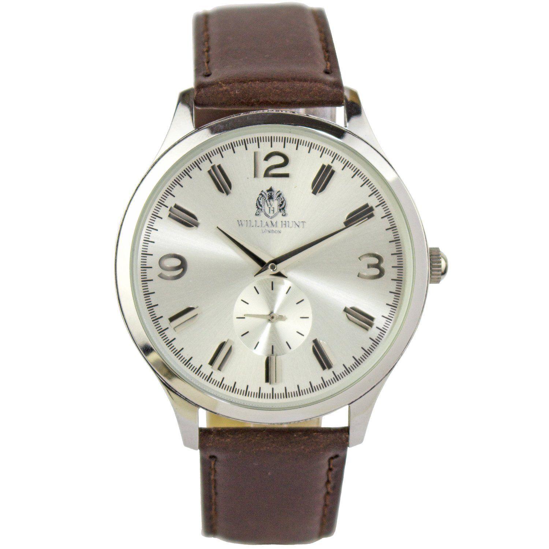 Dowd Silver Watch Silver watch, Brown watches, Silver