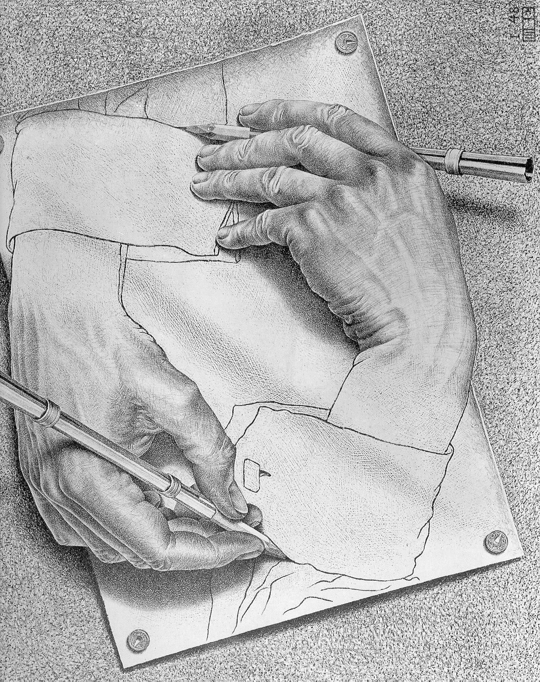 """M.C. Escher is like the """"Tool"""" of the drawing community"""