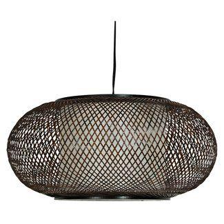Oriental Furniture Kata Winters 1-Light Geometric Pendant