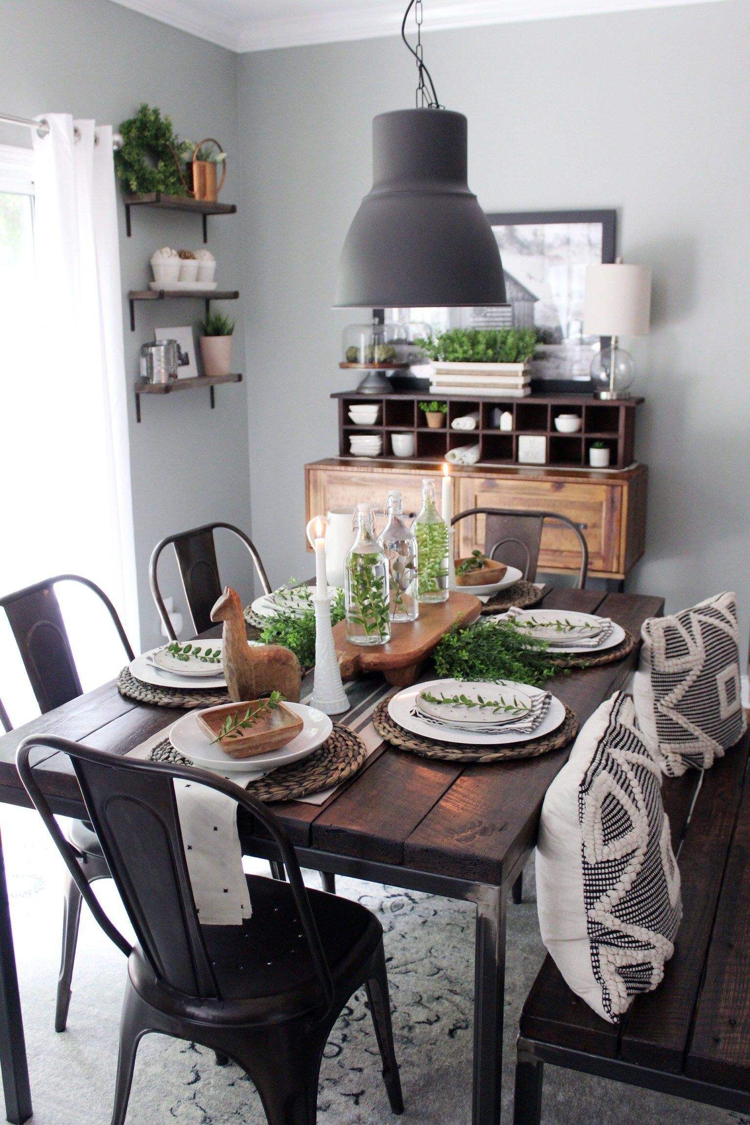 Innovative Suggestions For Dining Room Walls Farmhouse Dining Table Industrial Dining Table Industrial Dining