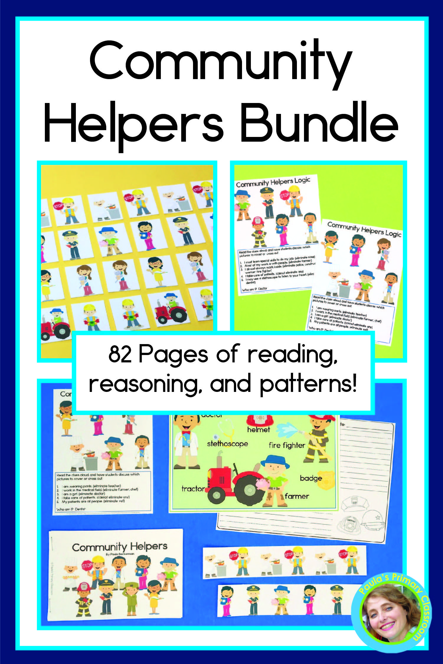 Community Helpers Activities Bundle In
