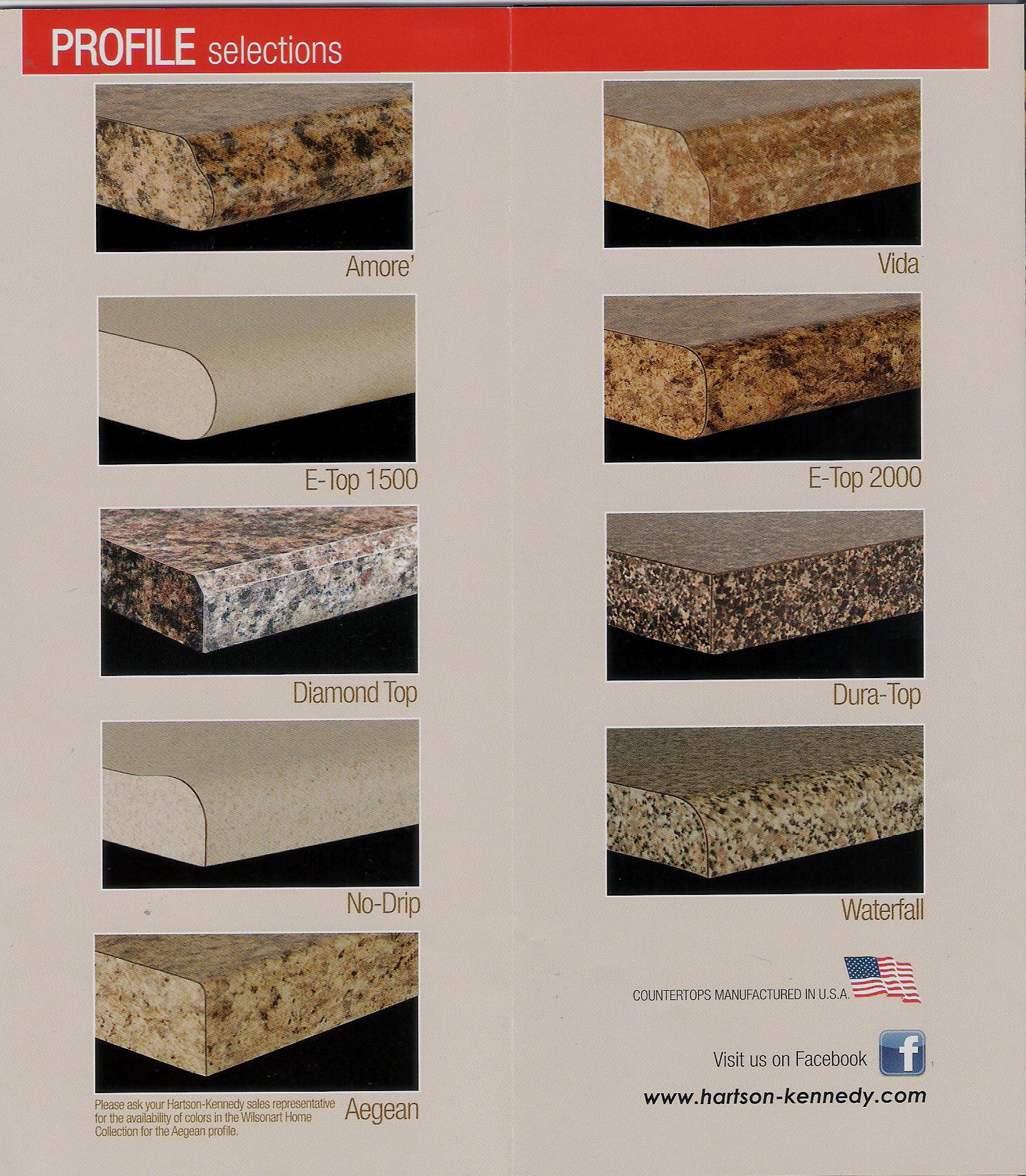 Hartson Kennedy Ogee Edge Amore Counters Laminate Countertops