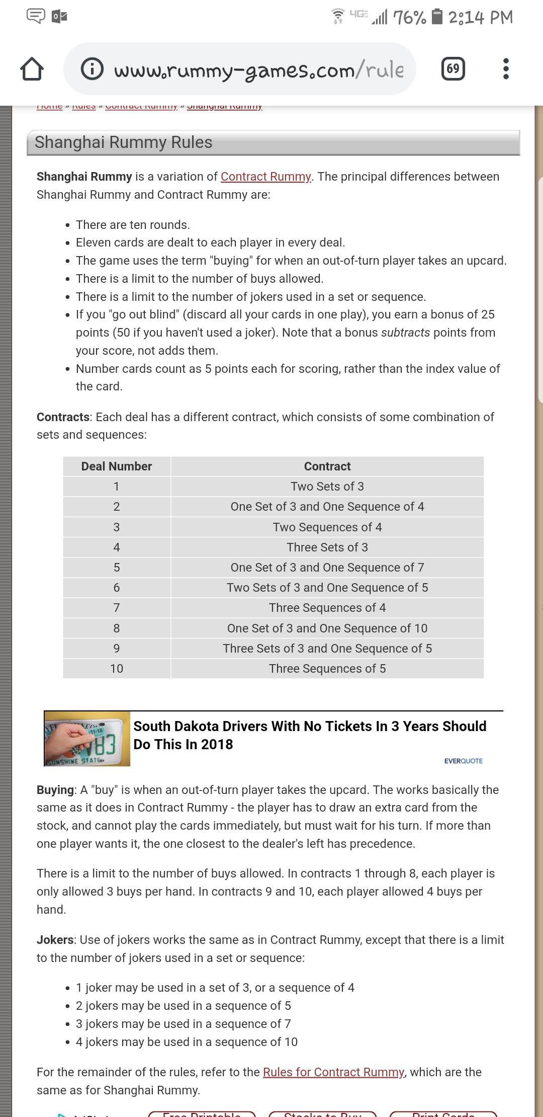 Shanghai rummy rules Rummy rules, Card games, Rummy