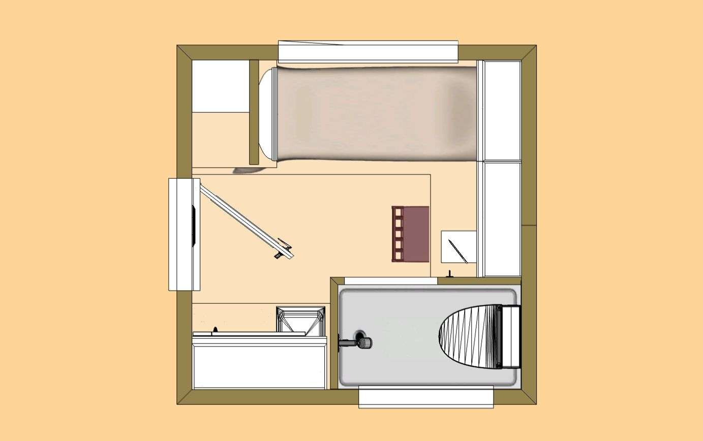 Cozy Home Plans Small Apartment Design Shed To Tiny House House Plans