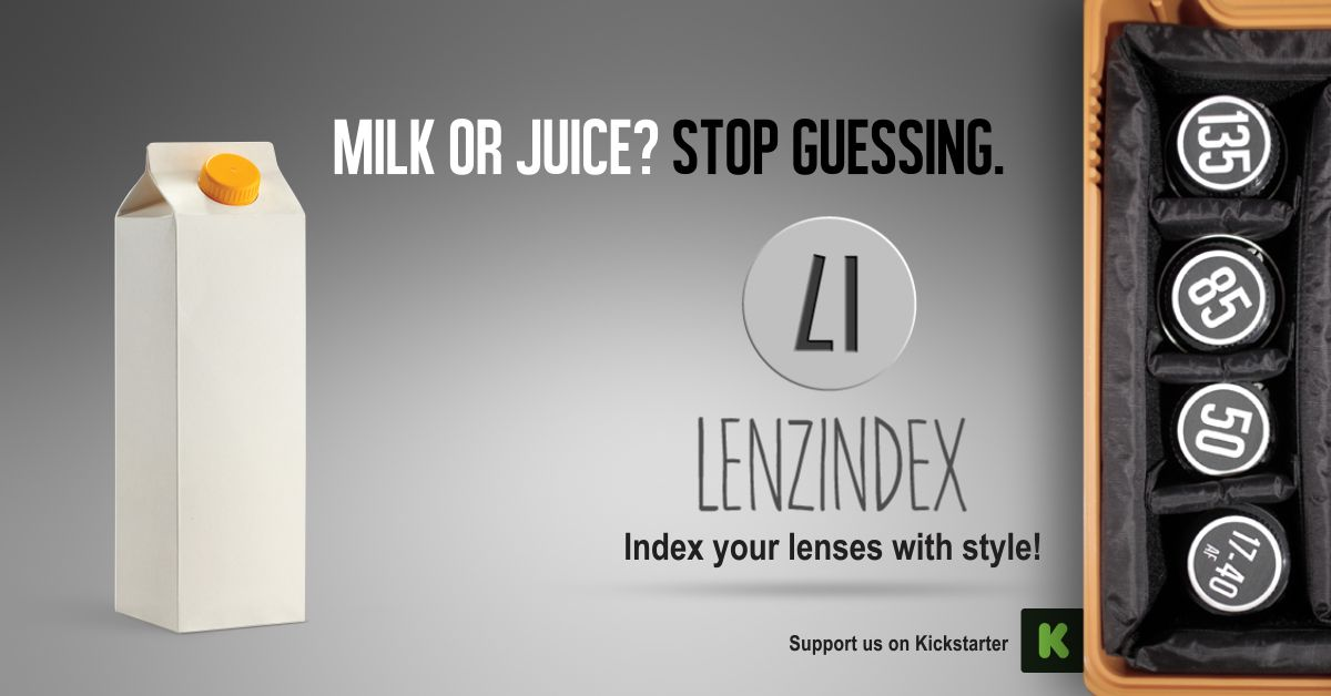 Don't you need a label on a blank carton of milk? Or is it juice?