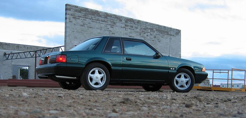 I Always loved the 1992 FOX Body Mustang LX The notchback with