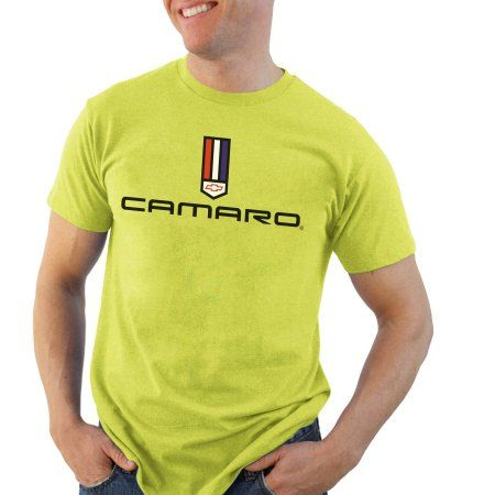 Chevy Camaro Big Men's Graphic Short Sleeve Tee, Size: Small, Green