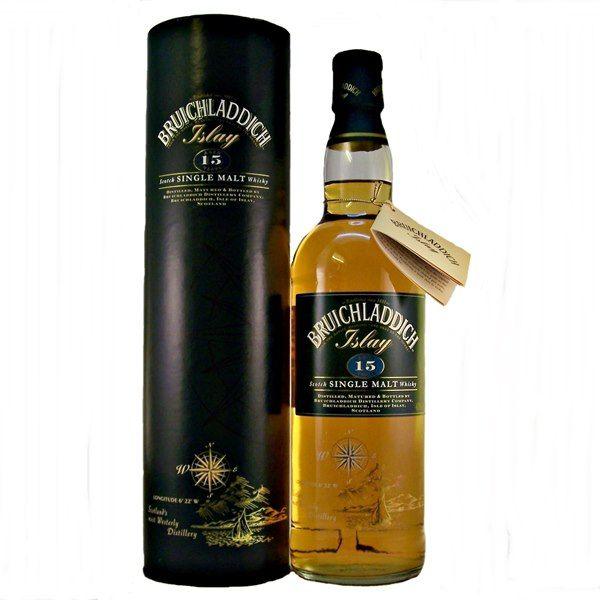 Bruichladdich Single Malt Whisky 15 Year Old Single Malt Single Malt Whisky Whisky