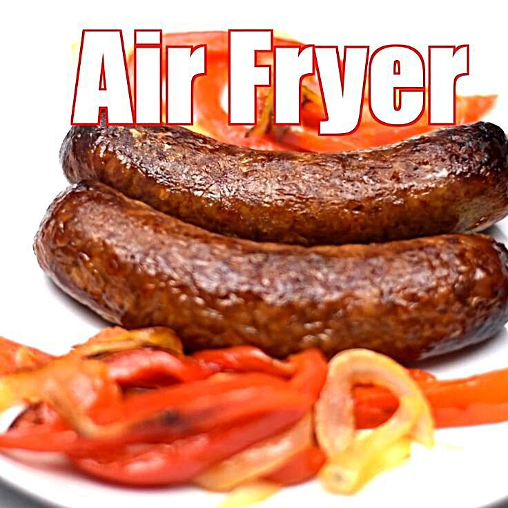 how to cook breakfast sausage links in air fryer