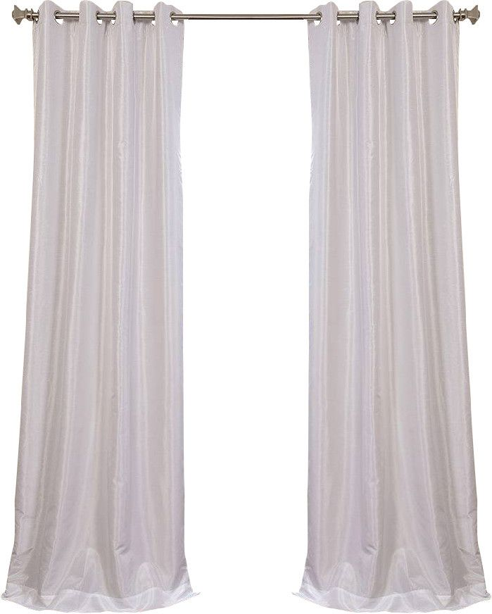 Gediminas Synthetic Solid Blackout Thermal Grommet Single Curtain