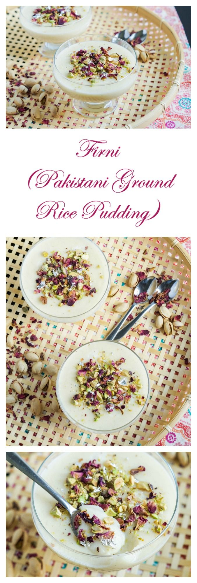 Firni (Pakistani Ground Rice Pudding)