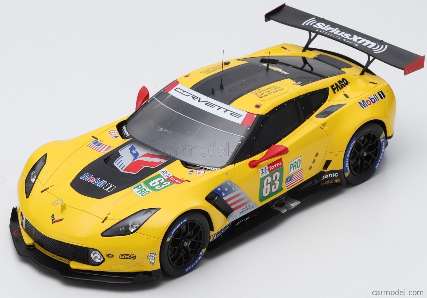 Chevrolet Corvette C7r Team Corvette Racing N 63 18th 24h Le