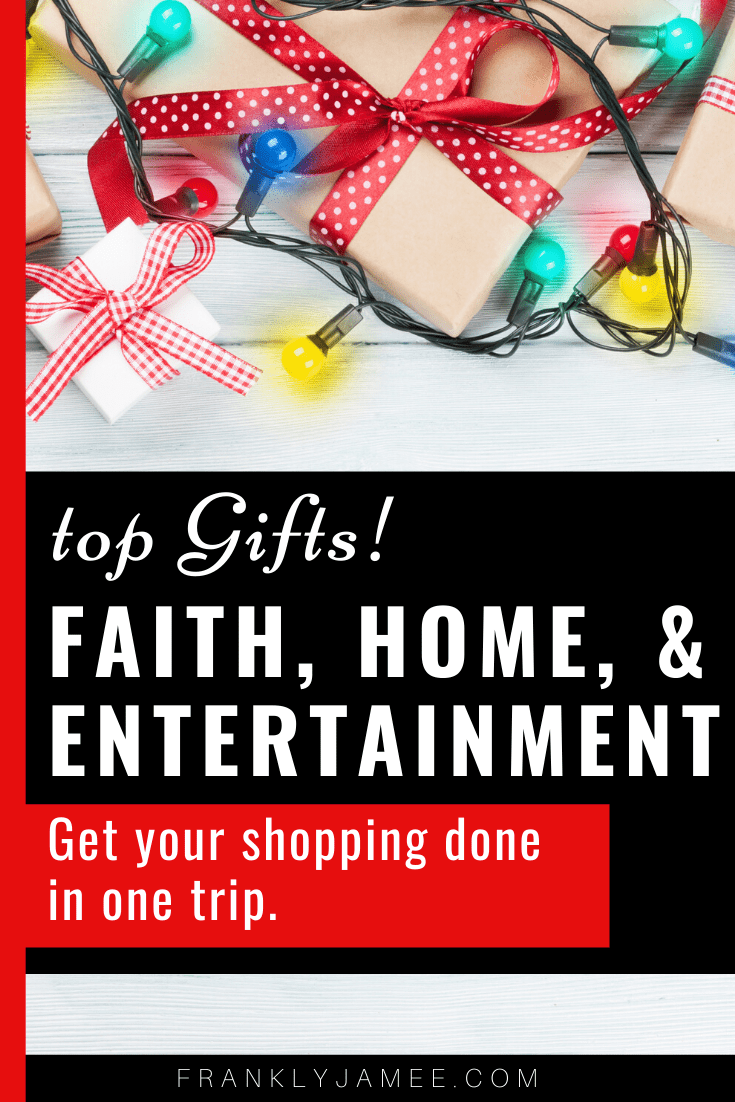 BEST HOLIDAY GIFT DEALS (Faith, Home, Family, Fun