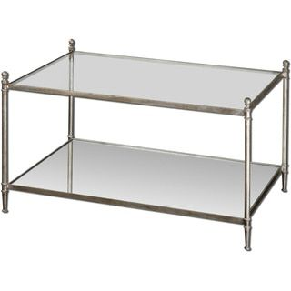 Shop for Uttermost Gannon Mirored Glass Coffee Table. Get free shipping at Overstock.com - Your Online Furniture Outlet Store! Get 5% in rewards with Club O!